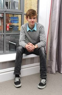 thomas brodie sangster aka Newt I officially declare you the model for Michael. That is all.