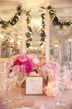 21 Ways of Using String Lights On Your Wedding - Don't you just love the table setting? #wedding #ideas