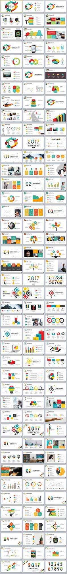 4in1+ company annual report PowerPoint Template Design templates - company report template