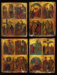 Ikon, Catholic, Religion, Santa, Scene, Painting, Beauty, Painting Art, Paintings