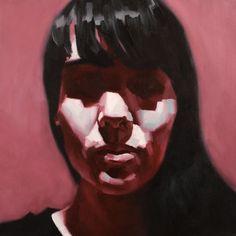 "mikecreighton:  Sophy #6 20"" x 20"" (51cm x 51cm) Oil on canvas 10/2014"