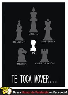 Te toca mover.  Síguenos en Facebook: http://facebook.com/HumorDePandereta