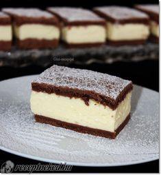 Sweet Desserts, Sweet Recipes, Diet Cake, Cookie Recipes, Dessert Recipes, Hungarian Recipes, Creative Cakes, Dessert Bars, No Bake Cake