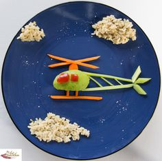 Fun lunches for kids helicopter