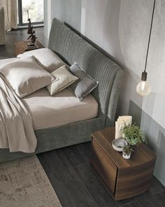 Home Bedroom, Bedroom Furniture, Headboards For Beds, Ottoman, Lounge, Couch, Home Decor, Models, Houses