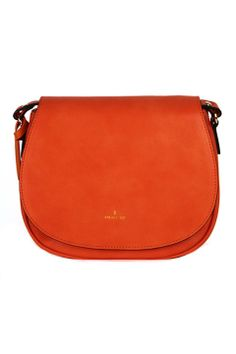 Vegan Orange Morning crossbody bag by Angela · Roi at www.shopethica.com.