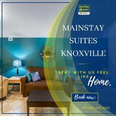 Our countless amenities and courteous staff are sure to please. Make us your home away from home in Knoxville, TN. Visit our website:- mainstayknoxville.com OR Contact:- +1 (865) 247-0222 to get amazing services. . #mainstay#hotel #motel #knoxville#suites#Tennessee #mainstay #explore #magicalcity #stay #contactusnow📲 #book #booknow‼️ Hotel Motel, Home And Away, Tennessee, Explore, Website, Feelings, City, Amazing, Books