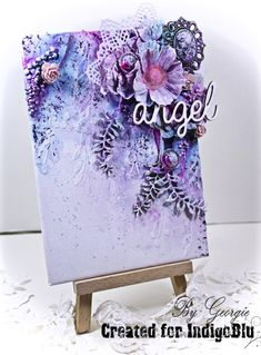 IndigoBlu Blog: Angel - Canvas