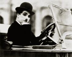 The one and only Charlie Chaplin.