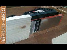 Intentando regruesar tablas más anchas que el cepillo eléctrico - YouTube