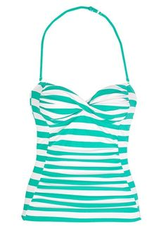 cute Tankini top! Black or White bottoms would work!