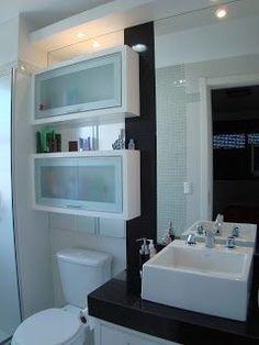O banheiro pequeno - o que ja comprei e varias ideias - Casa e Reforma House, House Bathroom, Bathroom Interior Design, Bathroom Renos, Home N Decor, Home, Home Deco, Bathrooms Remodel, Bathroom Decor