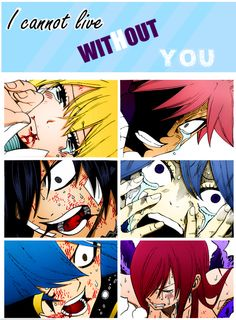 Cannot live without you - Nalu - Gruvia - Jerza