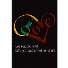 """""""One love, one heart. Let's get together and feel alright"""" - Bob Marley. Museum-quality posters made on thick and durable matte paper. Add a wonderful accent to your room and office with these posters that are sure to brighten any environment Bob Marley Art, Bob Marley Quotes, Inspirational Quotes About Love, Love Quotes, Quotes Quotes, Eminem Quotes, Rapper Quotes, Quotes Images, Uplifting Quotes"""