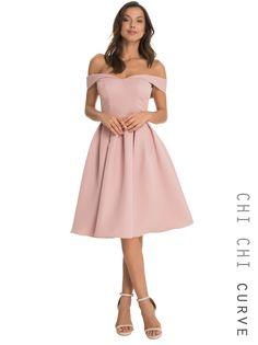 Chi Chi Curve Dulce Dress - chichiclothing.com