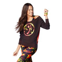 #danceiszumbapullover #zumbawear #zumbaclothing Whether you're maxin' and relaxin' or moving and grooving, the Dance is Zumba Pullover says it all.