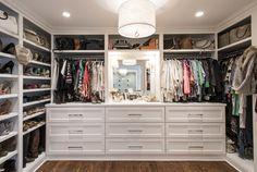 Look at that closet