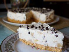 La mia versione della cheesecake con pere e cioccolato. Ottima!!!
