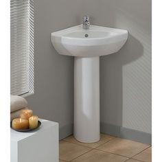 Cheviot 944-WH-1 Universal White Pedestals Single Bowl Bathroom Sinks  eFaucets.com