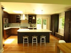 Another Spectacular Kitchen Design Many thanks for all your hard work Robin Finnegan. www.kmrenovate.com
