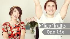 Two truths, one lie feat. Marcus Butler! Enjoyy http://www.youtube.com/watch?v=2Pz7q0b58IM&list=UUWRV5AVOlKJR1Flvgt310Cw