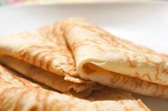Crêpes Recipe on Yummly. Crêpe Recipe, Gourmet Recipes, Cooking Recipes, Waffle Recipes, Bread Recipes, Healthy Meals For Kids, Healthy Desserts, Healthy Recipes, Main Meals