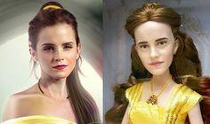 Anticipándose al estreno de La bella y la bestia el próximo mes de marzo, Disney está empezando ya a poner en circulación el merchandising oficial de la película. Y debido a la inmediatez de las redes sociales, la imagen de una horripilante versión en juguete de Emma Watson ha corrido como la pólvora