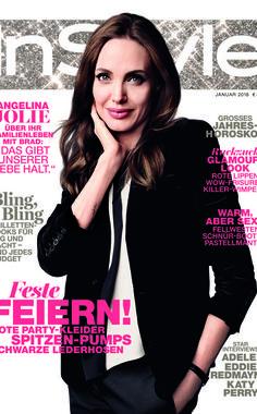 Das neue Heft: InStyle Januar 2016