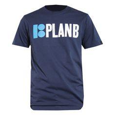 PLAN B Skateboard OG SS logo dress blue tee-shirt de skate 30€ #planb #planbskateboard #tee #tshirt #teeshirt #skate #skateboard #skateshop #skateboarding #planbskateboards