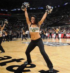 La noche de la batalla de las cheerleaders en la NBA