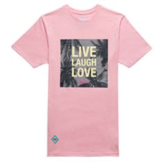 LLL Long Tee Pink Long Tee, Live Laugh Love, Tees, Clothing, Mens Tops, Pink, T Shirt, Outfit, T Shirts