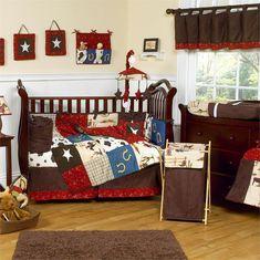 cowboy themed nursery for boy | Wild West Cowboy Baby Bedding | MonsterMarketplace.com