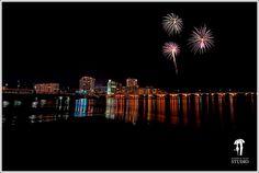 Condado at Night.