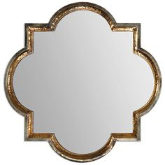 Uttermost Lourosa Gold Mirror 12862