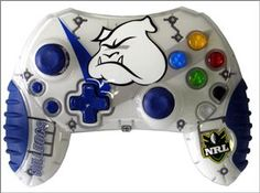 Xbox NRL Rugby League Canterbury Bankstown Bulldogs Team Controller. $19.99 with free postage.