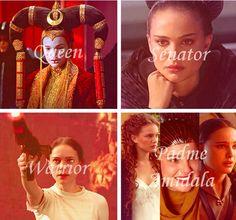 Padmè Amidala: queen, senator, warrior ... and mother