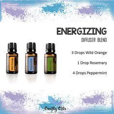 Energizing Essential Oil Diffuser Blend