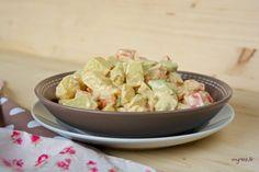 Salade de pommes de terre mayonnaise (vegan)