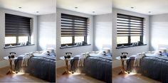 De verschillende standen van een duo rolgordijn #inspiratie #raamdecoratie http://www.woninginrichtingdoetinchem.nl/