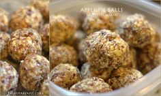 Apple Pie Balls: Nut