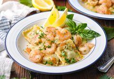 Shrimp And Ravioli