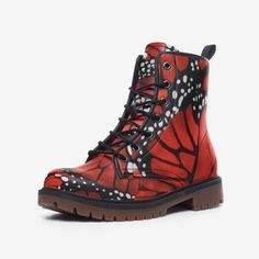 Red Monarch Leather Combat ... Leather Purses, Leather Wallet, Order Shoes Online, Army Combat Boots, All Weather Boots, Hard Wear, Steel Toe, Waterproof Boots, Shoulder Handbags