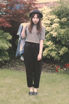 Amy looks great in these black vintage Levis over at http://www.thegirlinthebowlerhat.com  Get yours now http://www.bragvintage.co.uk  #bragvintage #vintagejeans #levi