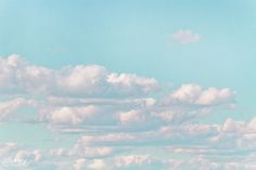 Cotton Candy Clouds | ~✿~