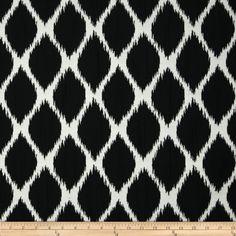 Golding Echo Upholstery Jacquard Onyx Fabric