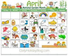 "Did you know that there is a holiday for everyday of the year. Nothing big, but they are fun little things to ""celebrate"". Here is a calendar of all the months. Though the months don… Wacky Holidays, Weird Holidays, Holidays And Events, Holidays In April, Funny Holidays, Winter Holidays, April National Days, National Holidays, National Holiday Calendar"