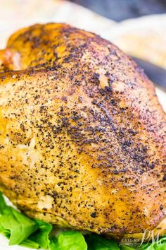 Best Holiday Roast Turkey Breast Is A Smaller And More Simple Main Course Classi. - Best Holiday Roast Turkey Breast Is A Smaller And More Simple Main Course Classic Recipe That's F - Easy Meat Recipes, Turkey Recipes, Easy Dinner Recipes, Chicken Recipes, Healthy Recipes, Dinner Ideas, Cookbook Recipes, Lunch Ideas, Crockpot Recipes