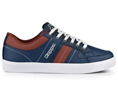 Coole Kappa Heren sneakers (blauw) Sneakers van het merk Kappa . Uitgevoerd in blauw.