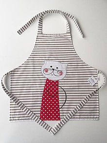 Other clothes - Baby apron with cat - Baby Sewing Projects, Sewing Hacks, Sewing Crafts, Love Sewing, Sewing For Kids, Teacher Apron, Childrens Aprons, Cute Aprons, Handbag Patterns