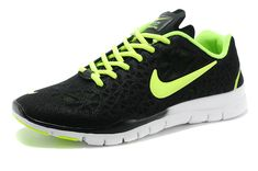 new style f8727 19b24 Nike Free TR Fit 3 Breathe Black Volt White Electric Green